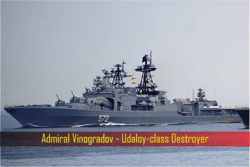 Admiral Vinogradov - Udaloy-class Destroyer