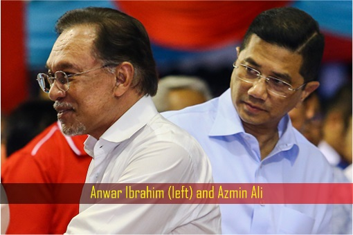 Anwar Ibrahim and Azmin Ali