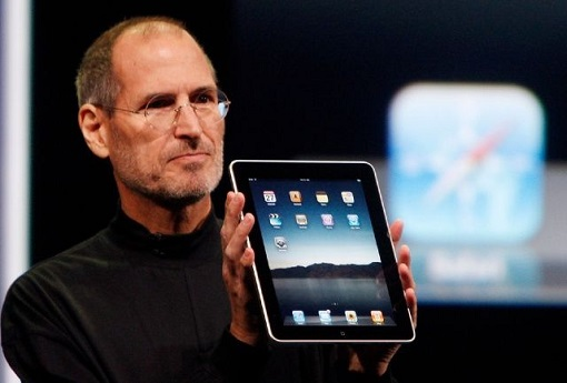 Apple iPad 2010 - Steve Jobs
