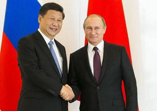 Best Friend - China President Xi Jinping and Russia President Vladimir Putin