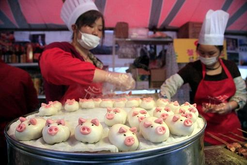 China Pork Dumpling