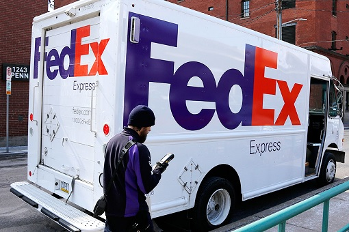 FedEx Truck Delivery