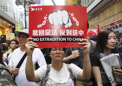 Hong Kong Demonstrations 2019 - No Extradition