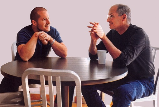 Jony Ive and Steve Jobs - Apple - Oct 2005