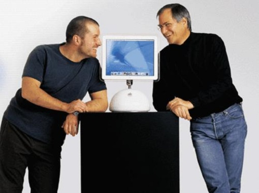 Jony Ive and Steve Jobs - Apple