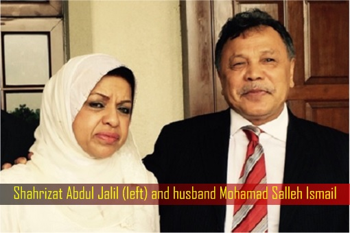 NFCorp Cowgate Scandal - Shahrizat Abdul Jalil and husband Mohamad Salleh Ismail