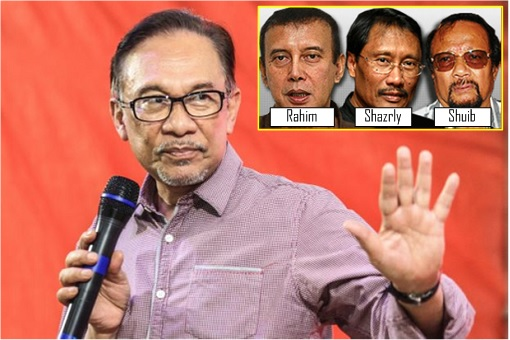 Sex Video - Anwar Ibrahim Accused By Shazryl Eskay Abdullah, Shuib Lazim and Abdul Rahim Thamby Chik