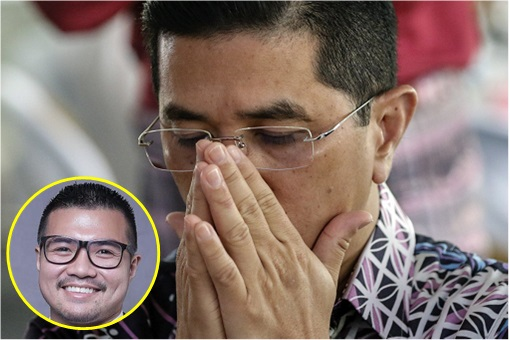 Sex Video Scandal - Azmin Ali and Muhammad Haziq Abdul Aziz - Worry Face