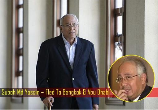 Suboh Md Yassin – Fled To Bangkok & Abu Dhabi