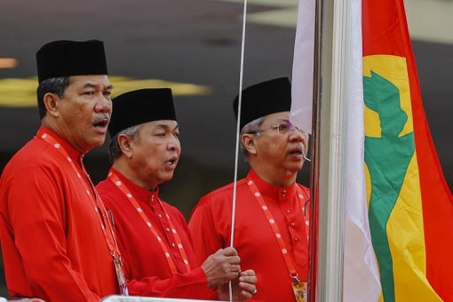 UMNO Raising Flag As First Time Opposition