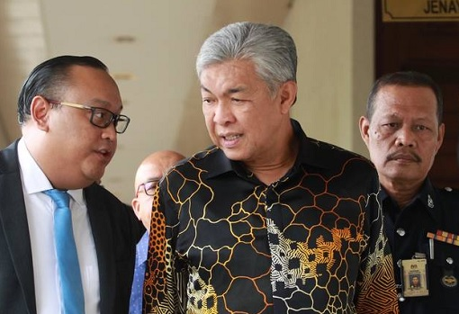 Zahid Hamidi - New 40 Charges - Foreign Visa System Corruption