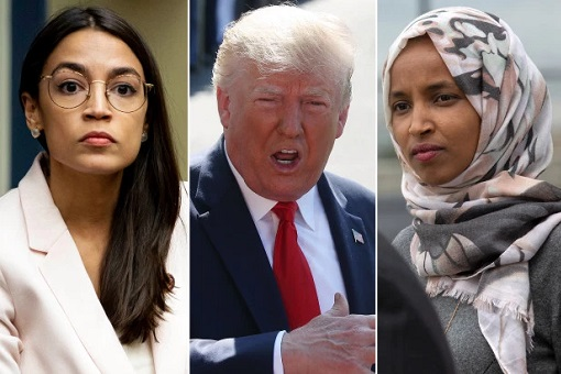 Donald Trump Tells Freshman Democrat Congresswomen Go Back To Africa