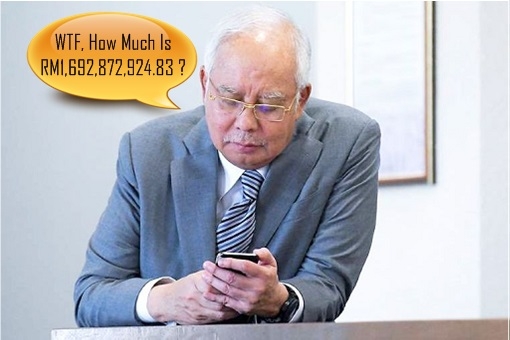 Najib Razak - IRB Inland Revenue Board - Owe Taxes RM1.69 Billion - WTF
