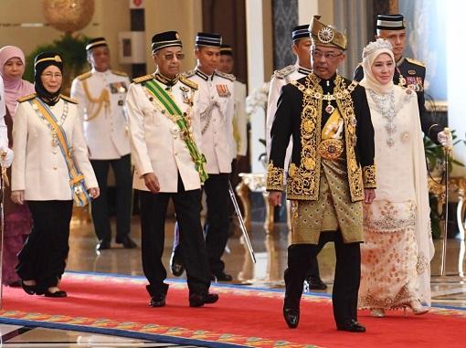 New King - Sultan Abdullah of Pahang Inauguration As Agong