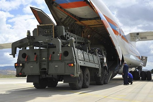 Russia S-400 Missile Defence System - Transported To Turkey