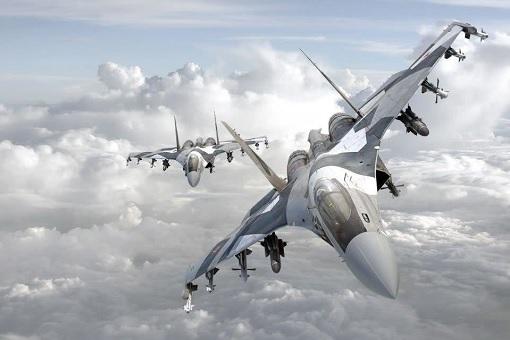 Russia Sukhoi Su-35 Flanker-E Fighter Jet - 2