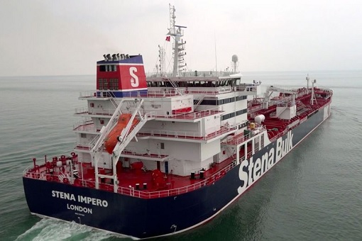 UK Britain Tanker Stena Impero