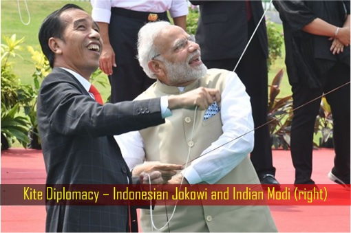 Kite Diplomacy – Indonesian Jokowi and Indian Modi