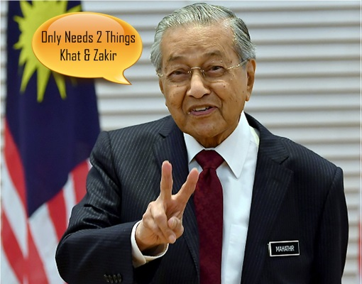 Mahathir - Divide and Rule - Khat Jawi and Zakir Naik