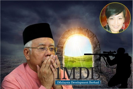 You Know Najib Suffers From A Mental Disorder When He Talks About Sniper & Afterlife
