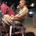 Apple Steve Jobs Is Alive? This Incredible Photo Of A Man Having A Coffee In Egypt Sparks Conspiracy Theory