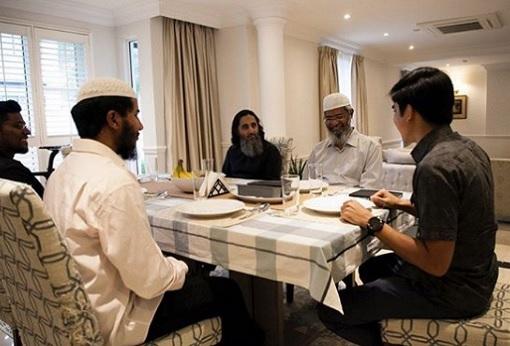 The Dinner - Preacher Zakir Naik and Minister Syed Saddiq - 2