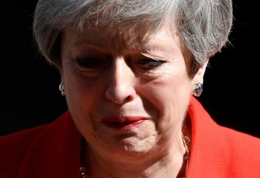 Theresa May Cried Announcing Resignation