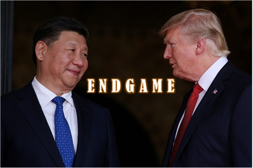 Trade War EndGame - President Xi Jinping and President Donald Trump
