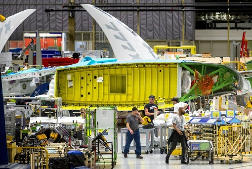 Boeing 777X Manufacturing Plant