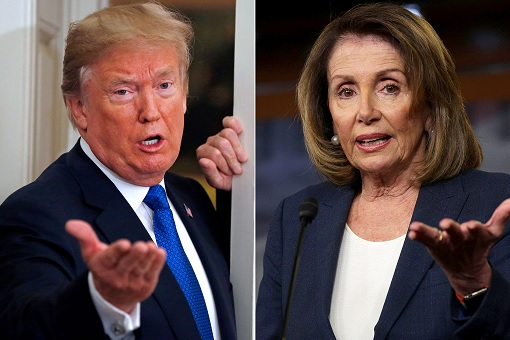 Donald Trump vs Nancy Pelosi