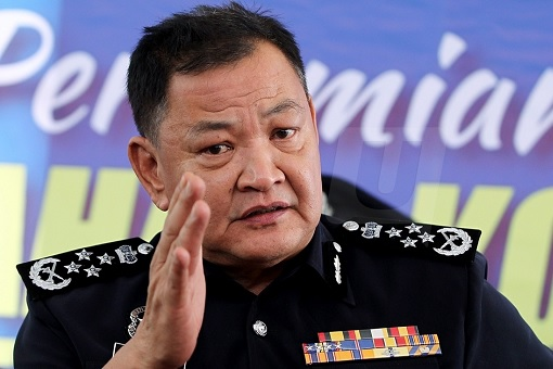 IGP Inspector-General of Police Abdul Hamid Bador