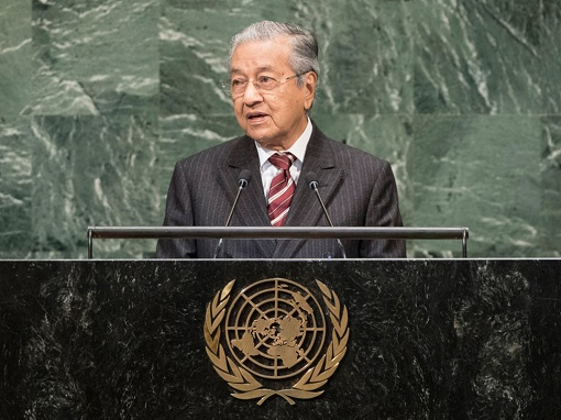 Mahathir Mohamad - Speech at United Nations September 2019