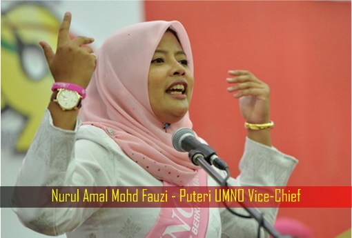 Nurul Amal Mohd Fauzi - Puteri UMNO Vice-Chief