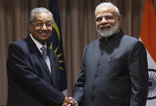 PM Mahathir Mohamad Meets PM Narendra Modi - Russia