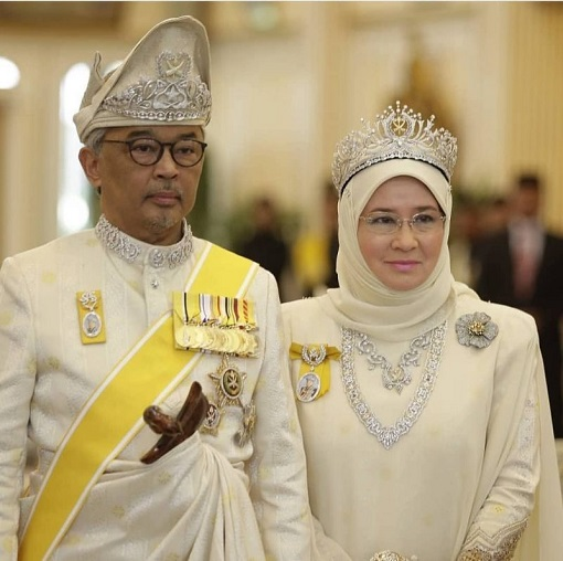 The New King - Sultan Abdullah and Queen Azizah