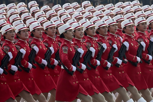 China 70th Anniversary Chinese Communist Party - Women Uniform