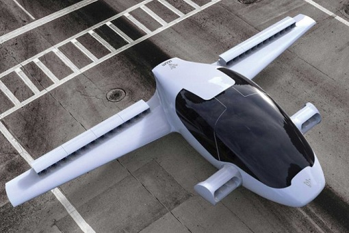 German Lilium - Flying Car-Taxi - Parking