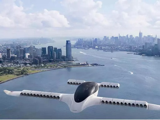German Lilium - Flying Car-Taxi