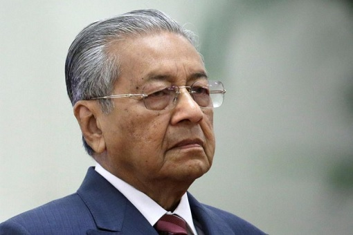 Mahathir Mohamad - Sad and Upset Facial Expression