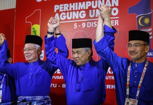 Najib Razak - Zahid Hamidi - Hishammuddin Hussein