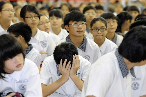 Singapore PSLE - Primary School Leaving Examination - St Hilda's Primary School Pupils Waiting Results