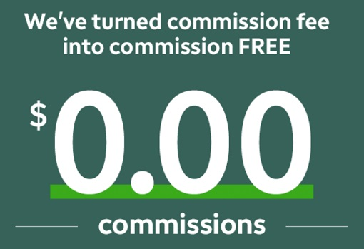 Stock Trading - Fee To Free Commission