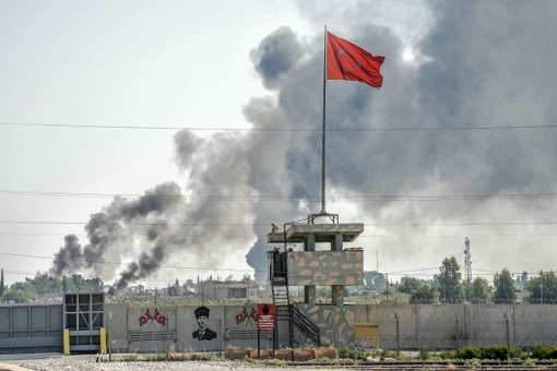 Turkish Invasion On Northern Syria - War with Kurdish