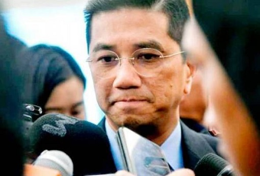 Azmin Ali - Worry Face