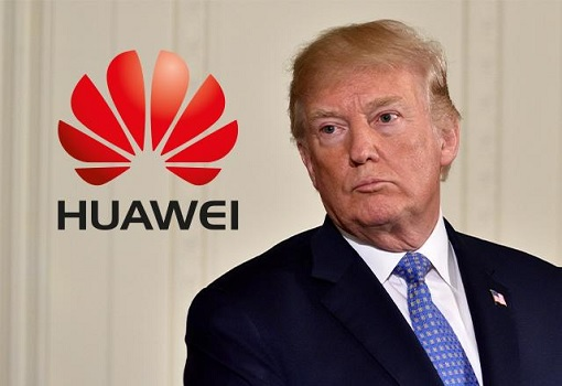 Donald Trump Blacklisting Huawei