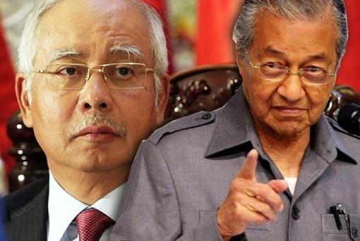Mahathir Mohamad Warning Najib Razak