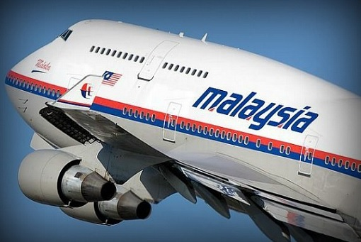 Malaysia Airlines - Plane In The Sky