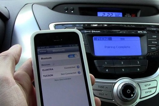 Phone Bluetooth Connect To Car