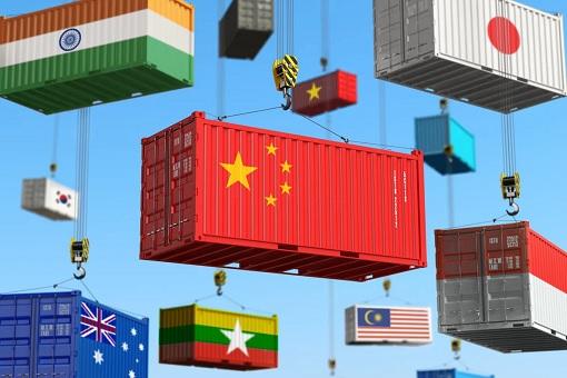 RCEP Regional Comprehensive Economic Partnership - Trade Containers