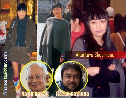 Altantuya-Shaariibuu Murder - Najib Razak and Razak Baginda Inset